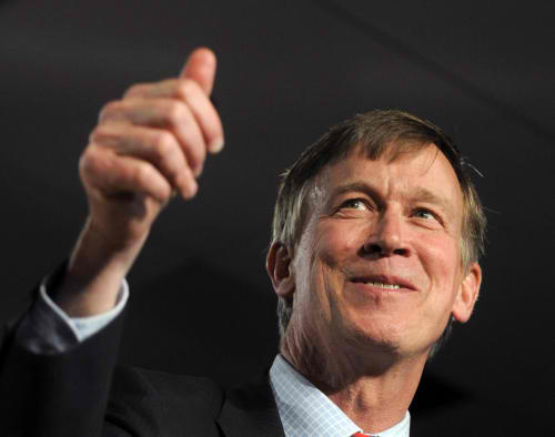 Colorado Governor Hickenlooper Gives Marijuana Advice To California
