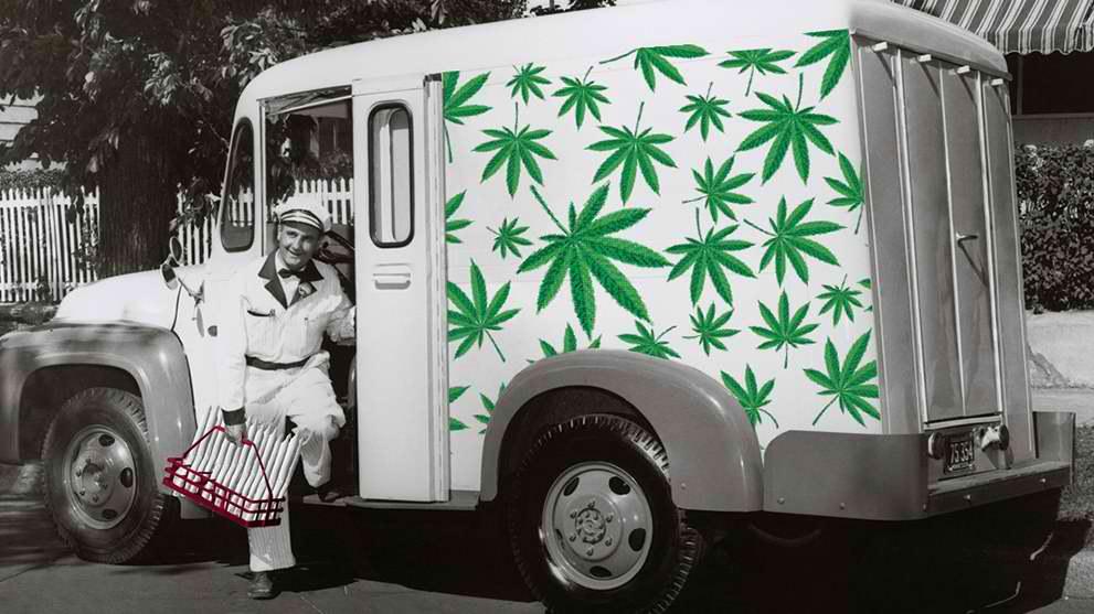 Maine?s Free Recreational Marijuana Delivery Service
