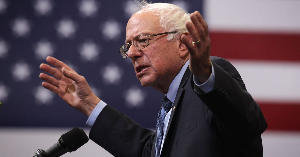 Sanders Introduces Bill Ending The Federal Ban On Marijuana
