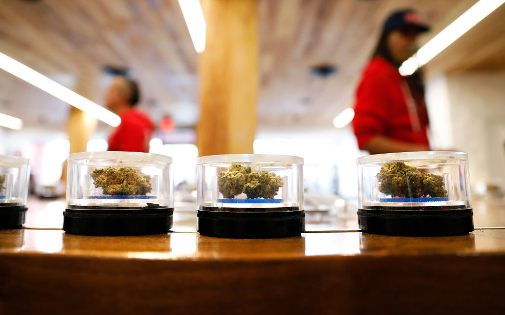 Marijuana-friendly states ask Congress to make banking legal for the weed industry