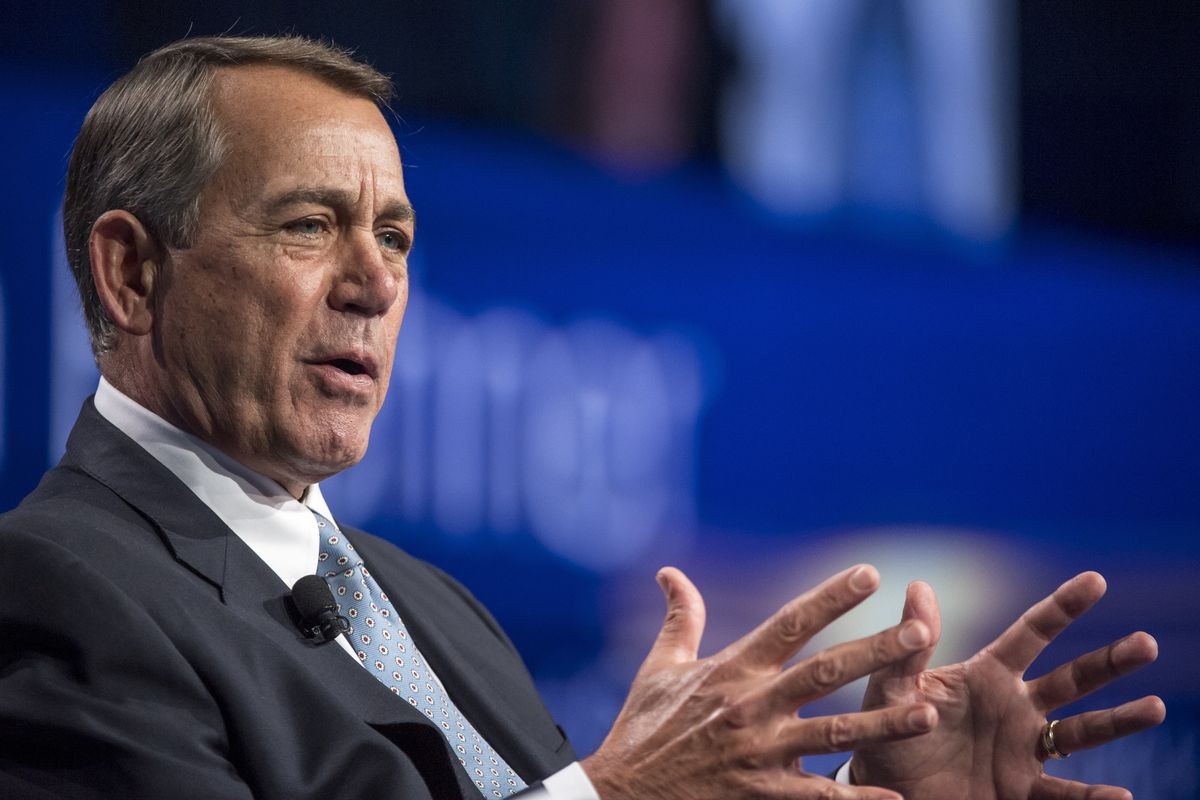 Ex-Speaker John Boehner Joins Marijuana Firms Advisory Board