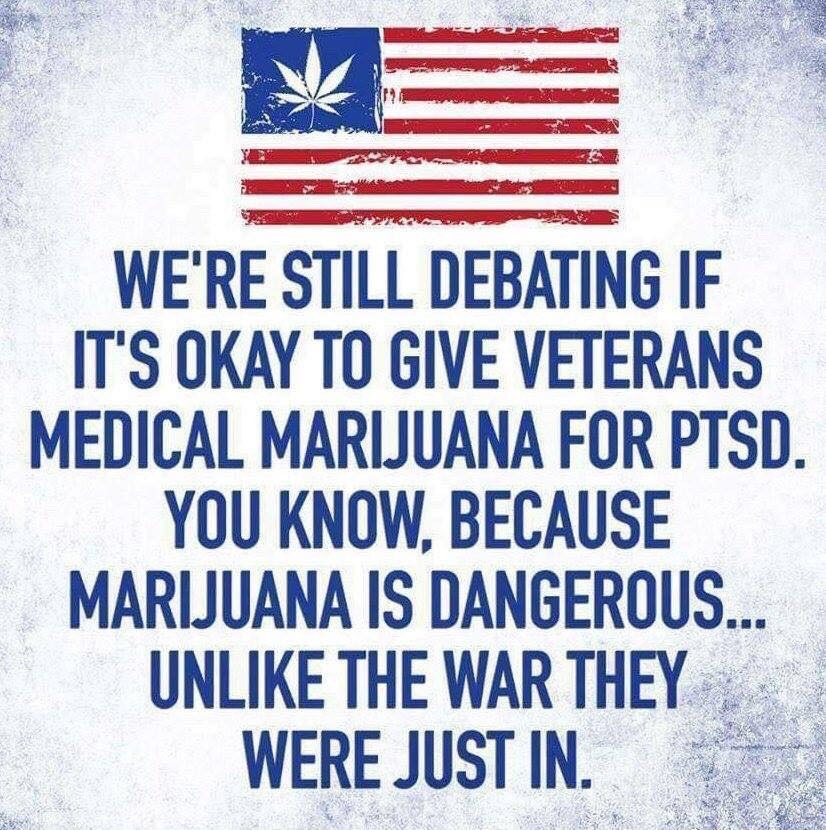 Congress again denied the VA permission to dispense medical Marijuana even in states where it is legal.