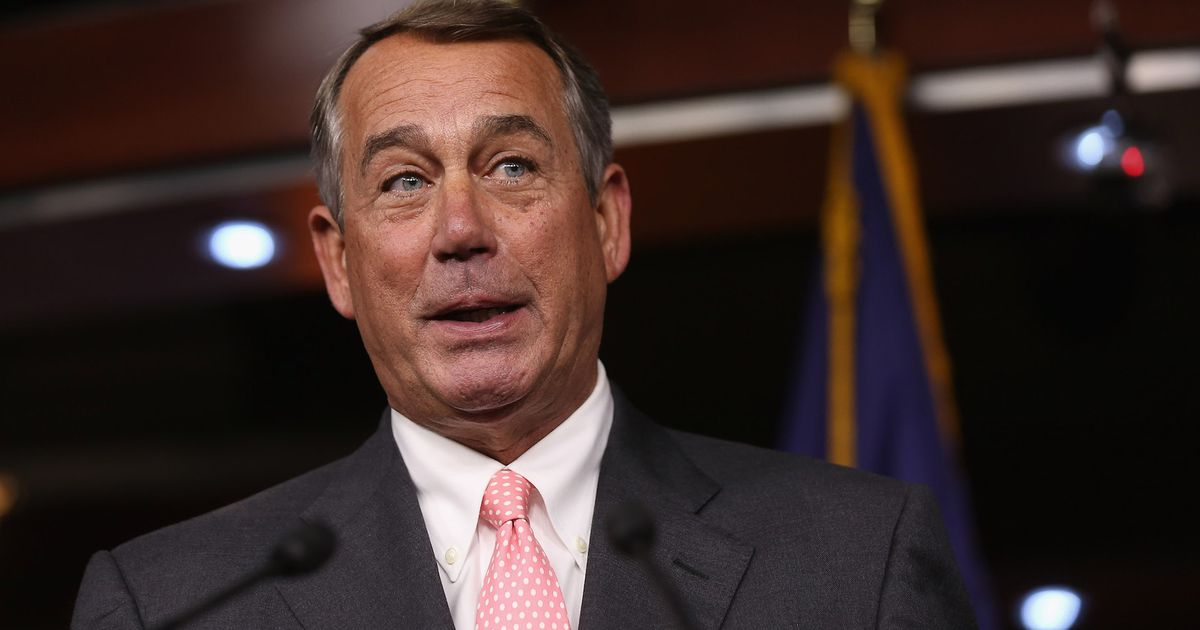 John Boehner, who helped send drug dealers to prison, to lobby for marijuana
