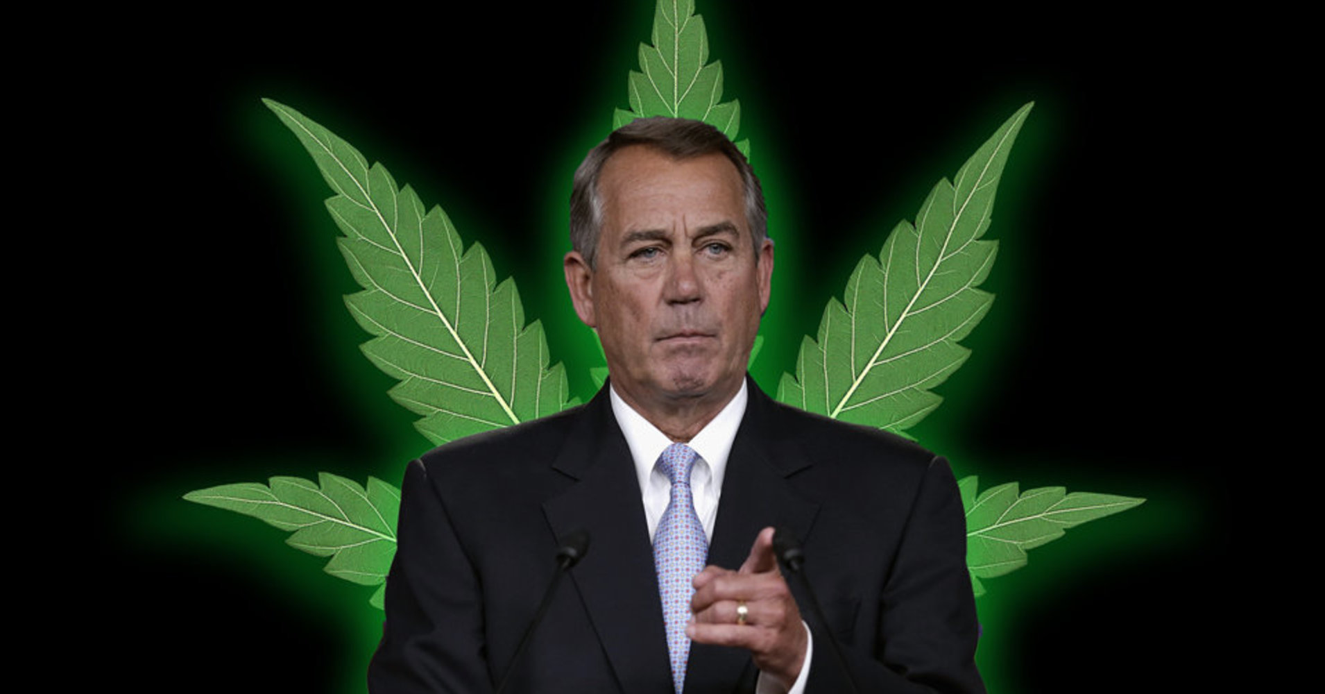 John Boehner Now Lobbying For Medical Marijuana